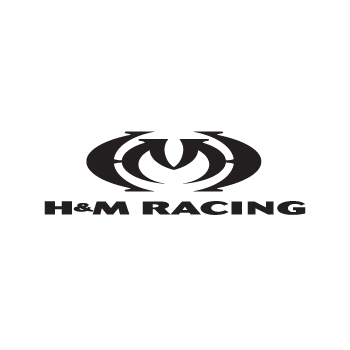H and M racing logo